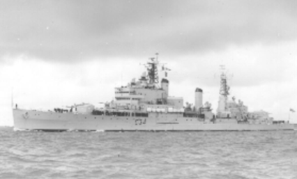 Ooops, a little nudge into HMS Lion