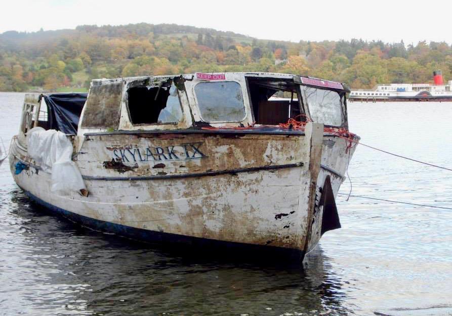 Skylark is afloat….