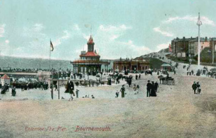Bournemouth becomes a seaside resort