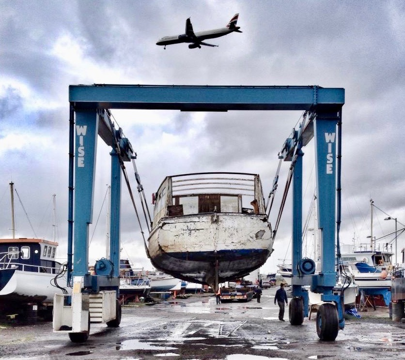 To the River Clyde Boatyard